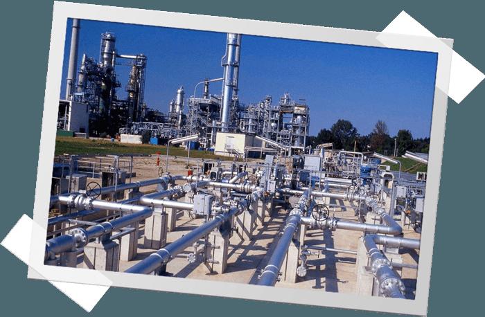 Bayernoil Raffinerie von oben